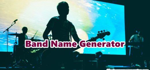 Band Name Generator - Random Generate Cool & Rock Band Name 2019